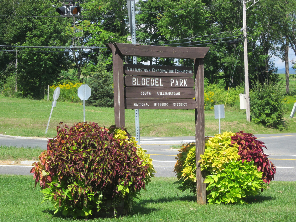 Bloedell Park containers