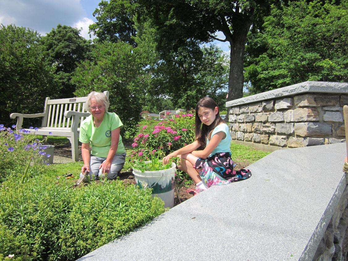 Gardening at Field Park